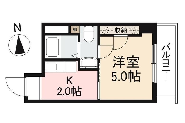 大住ビル-201-間取り図